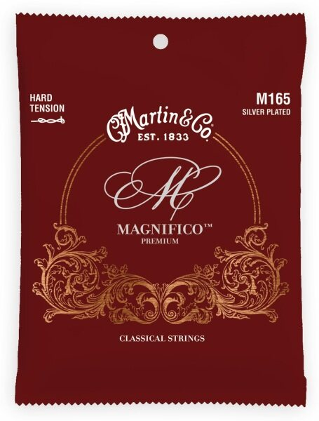 Martin (M165) - Classical Magnifico Premium Guitar Strings - Sliver Plated Malaysia