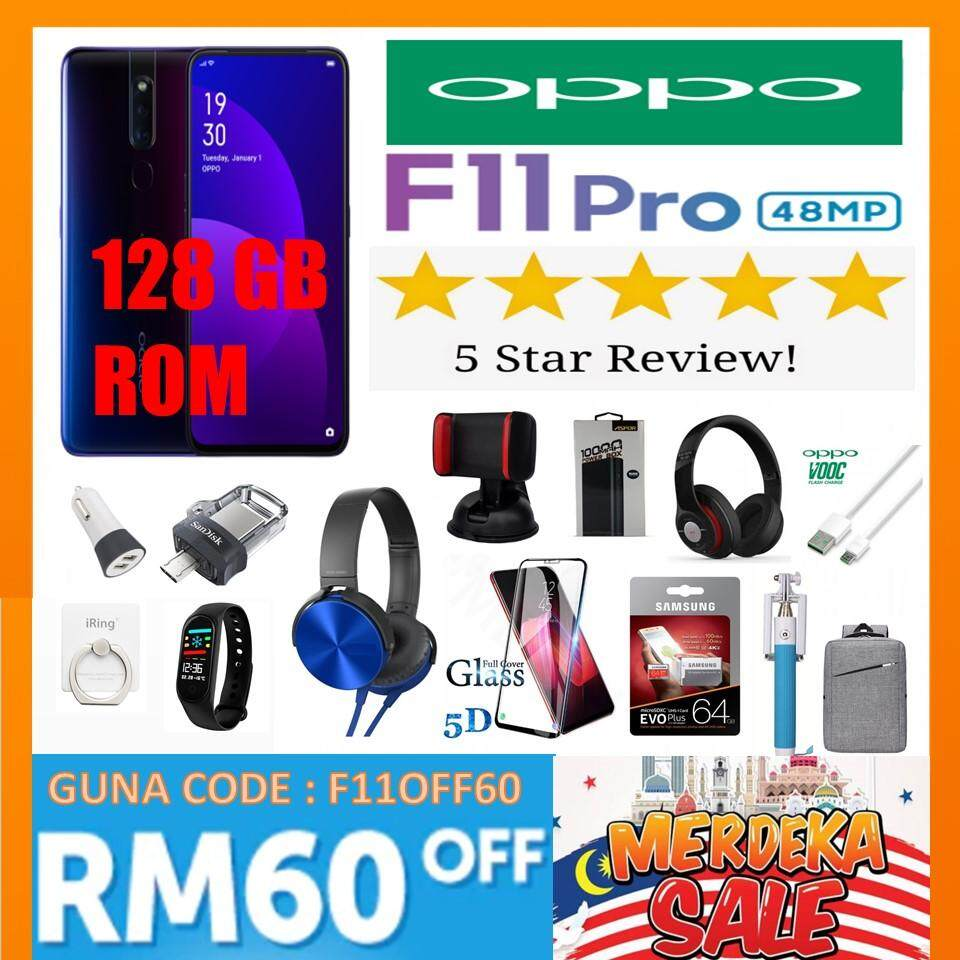 [USE CODE F1120OFF GET RM20 OFF][5 STARS REVIEW] OPPO F11 PRO (6GB RAM  128GB ROM) [All Free Gifts Worth RM400 To Choose] handphone