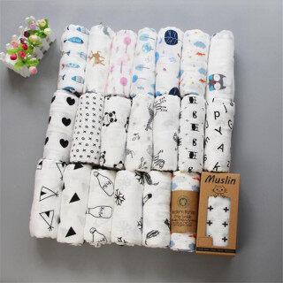 Khăn Quấn Trẻ Em Vải Muslin 100% Cotton Chăn Mềm Cho Trẻ Sơ Sinh, Túi Ngủ Bọc Trẻ Em, Bộ Đồ Giường Cho Trẻ Sơ Sinh Swaddleme thumbnail
