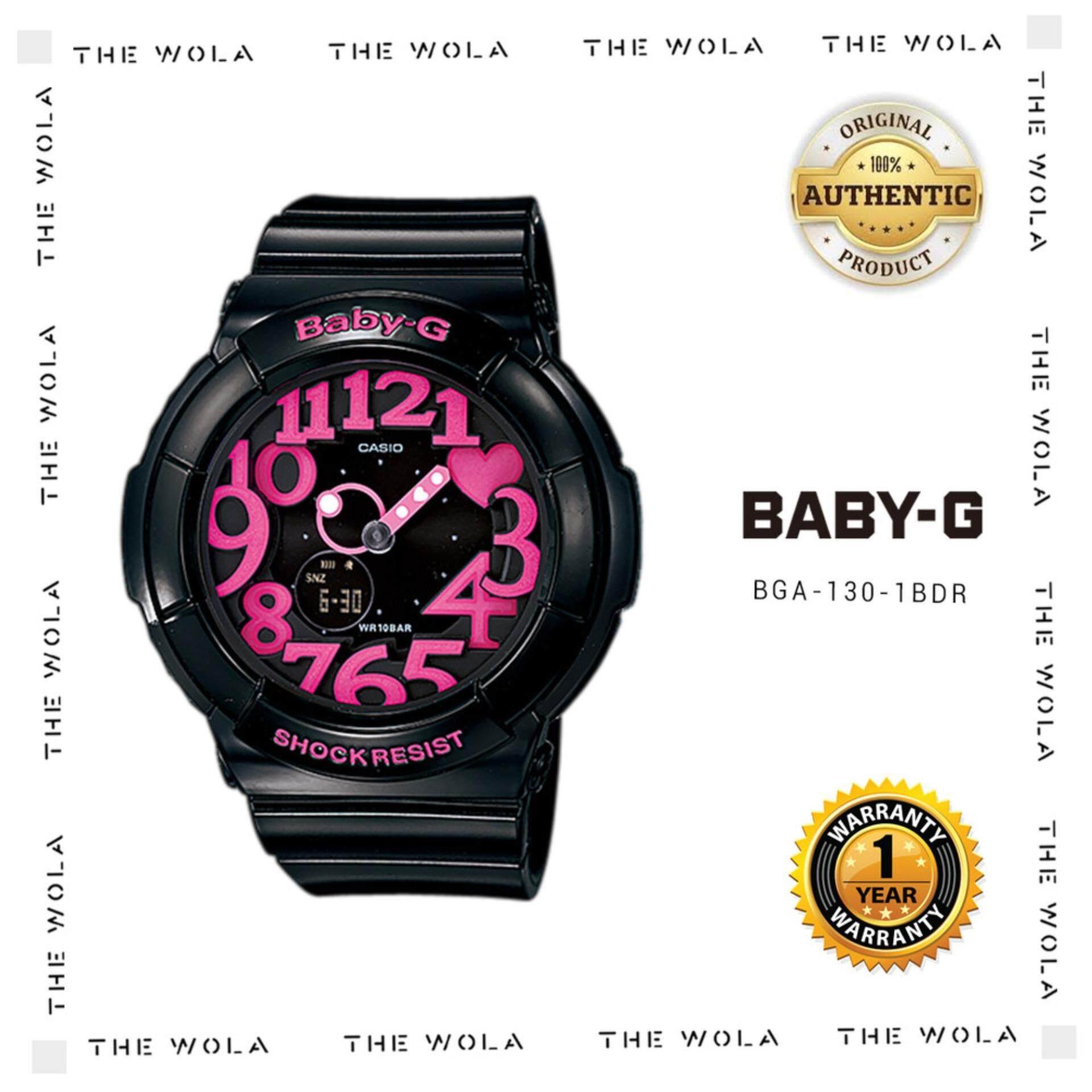 CASIO BABY-G SPORT WOMEN WATCH BGA-130-1BDR Original & Genuine (