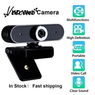 Veecome PC Webcam Độ Nét Cao USB Camera Web 360 Độ Xoay Tiếng Ồn Noise Cancelling Microphone Ghi Video thumbnail