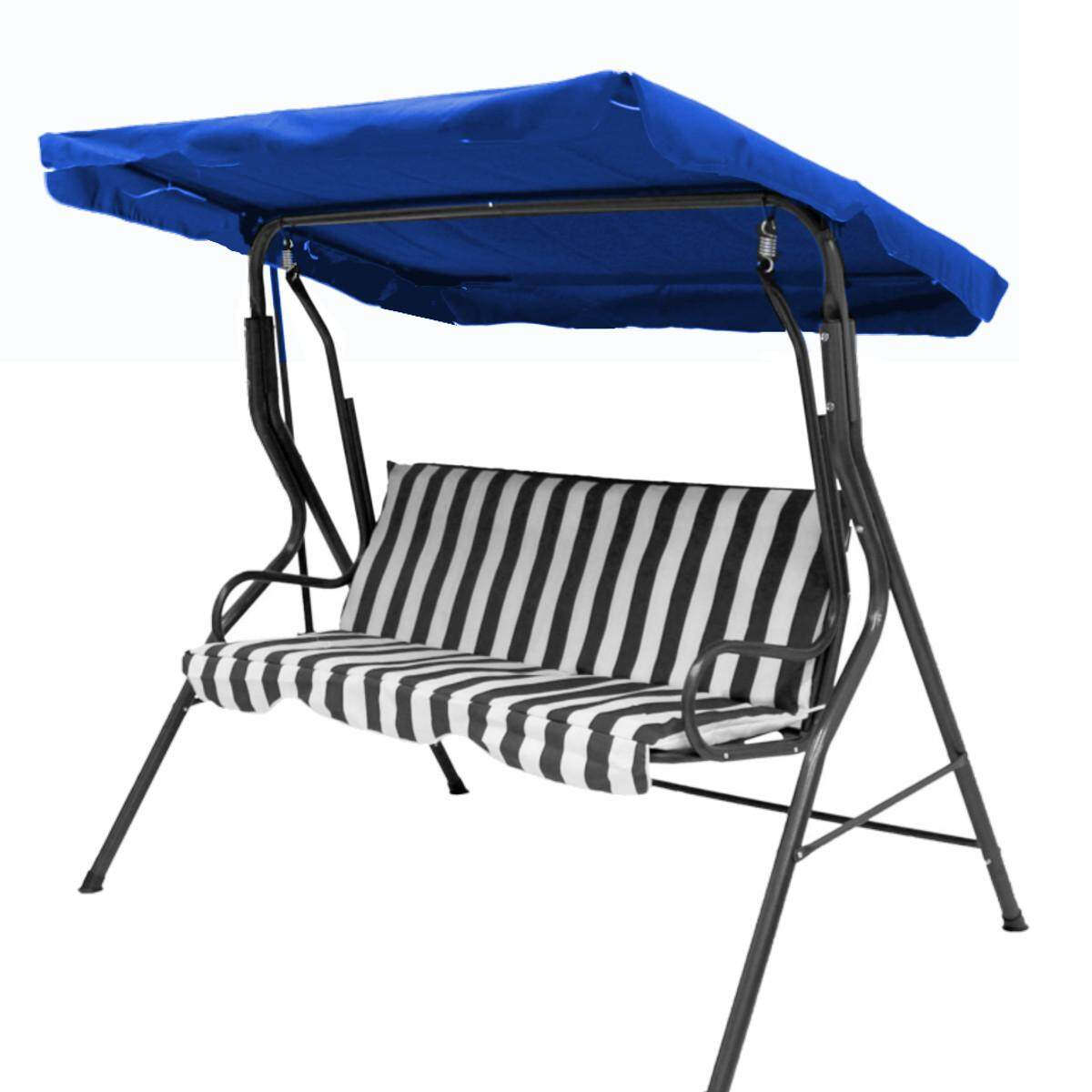 Replacement Canopy For Swing Seat Garden Hammock 3 Seater Sizes Spare Cover By Vividly.