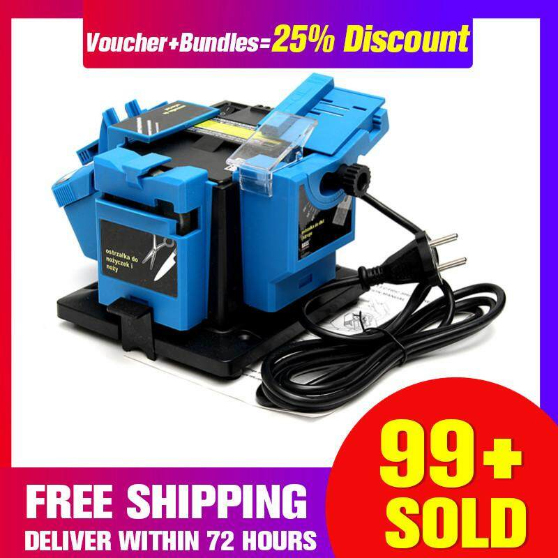 【Free Shipping + Super Deal + Limited Offer】220-240V 96W Electric Grinder Multifunction Knife Sharpener Grinding Drill Tool