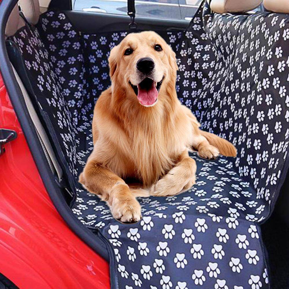 Oxford Pet Car Seat Cover Pet Car Seat Protector With Safety Belt For Dogs Cats Waterproof Non-Slip By Haitao.