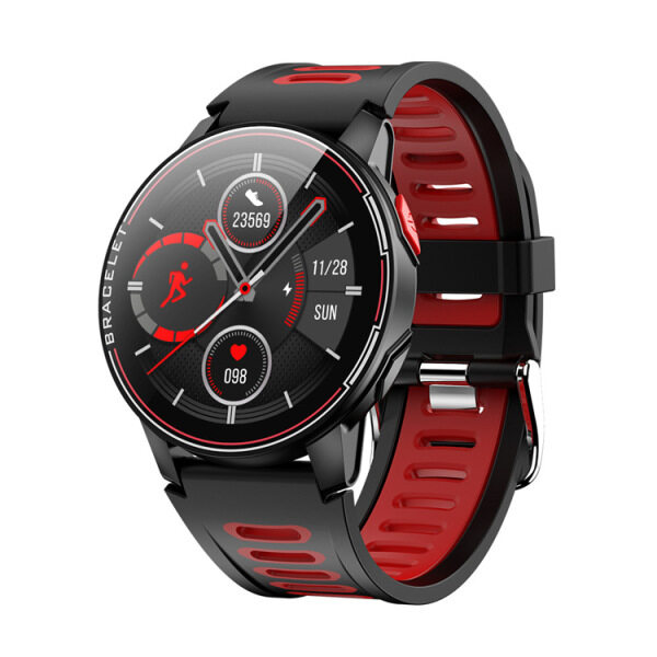 Asport L6 Smart Watch  Screen Heart Rate Blood Pressure Monitor Sports Smart Watch. Malaysia