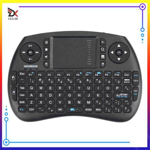 Mini Wireless Air Mouse Keyboard Rechargeable 2.4GHz Portable Touchpad Keypad for Computer Supplies Singapore