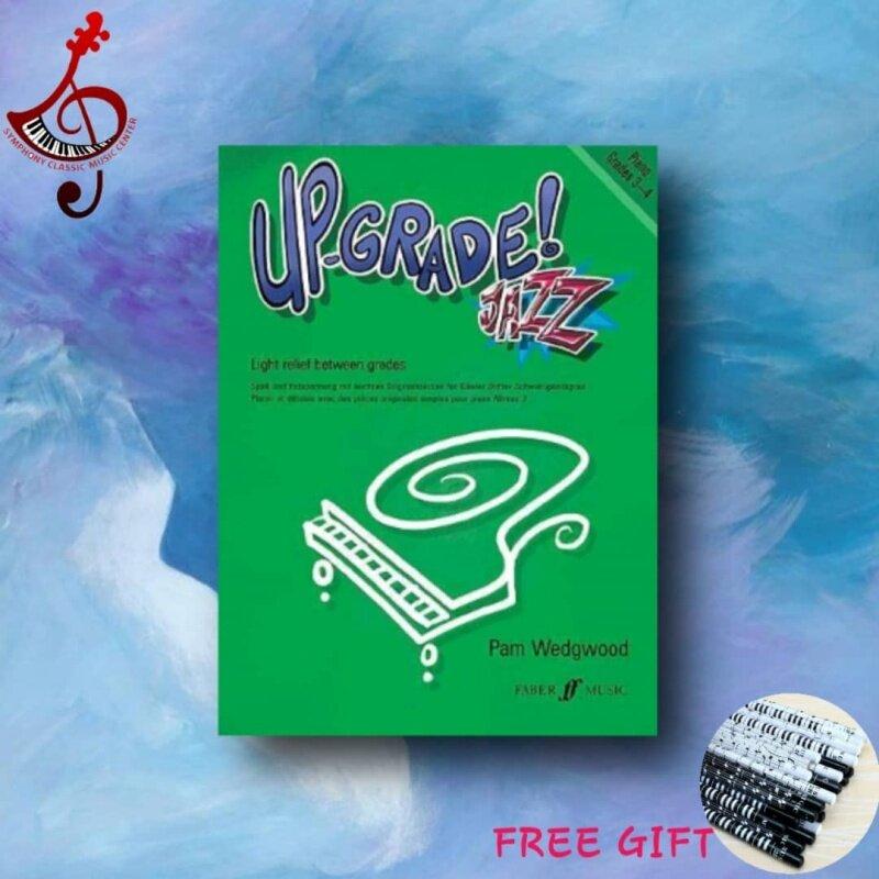Up-Grade! Jazz Grades 3-4 (Piano Solo) by Pamela Wedgwood Malaysia