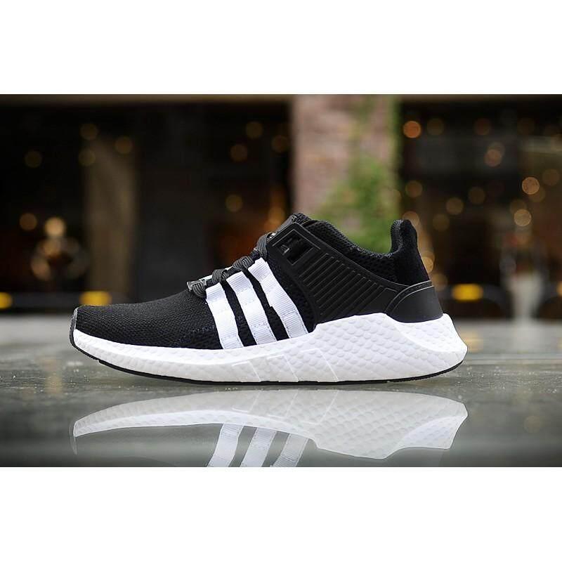 b0fa50f39d20 Original ADIDAS Shoes EQT 91 Sneaker Sport Shoes for Men and Women Black  White