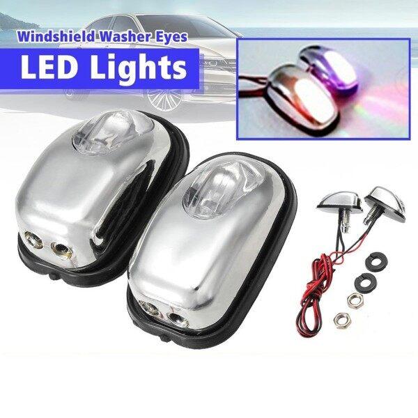 Đèn LED 5 Màu, Kính Chắn Gió Kính Chắn Gió Vòi Phun Tia, Gạt Nước Máy Giặt Mắt