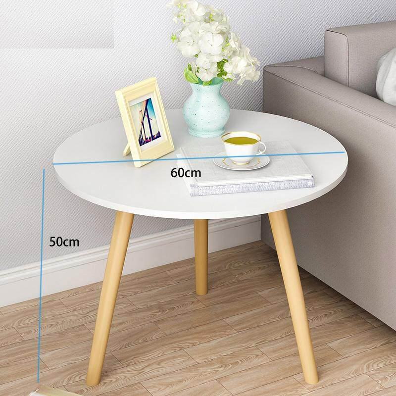 3 Wood Legs Coffee Table Nordic Round