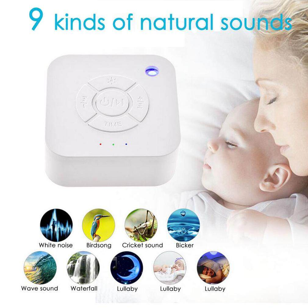White Noise Machine Therapy Sleep Relaxation Night Sleeping Aid 9 Relax Sounds By Akefun.