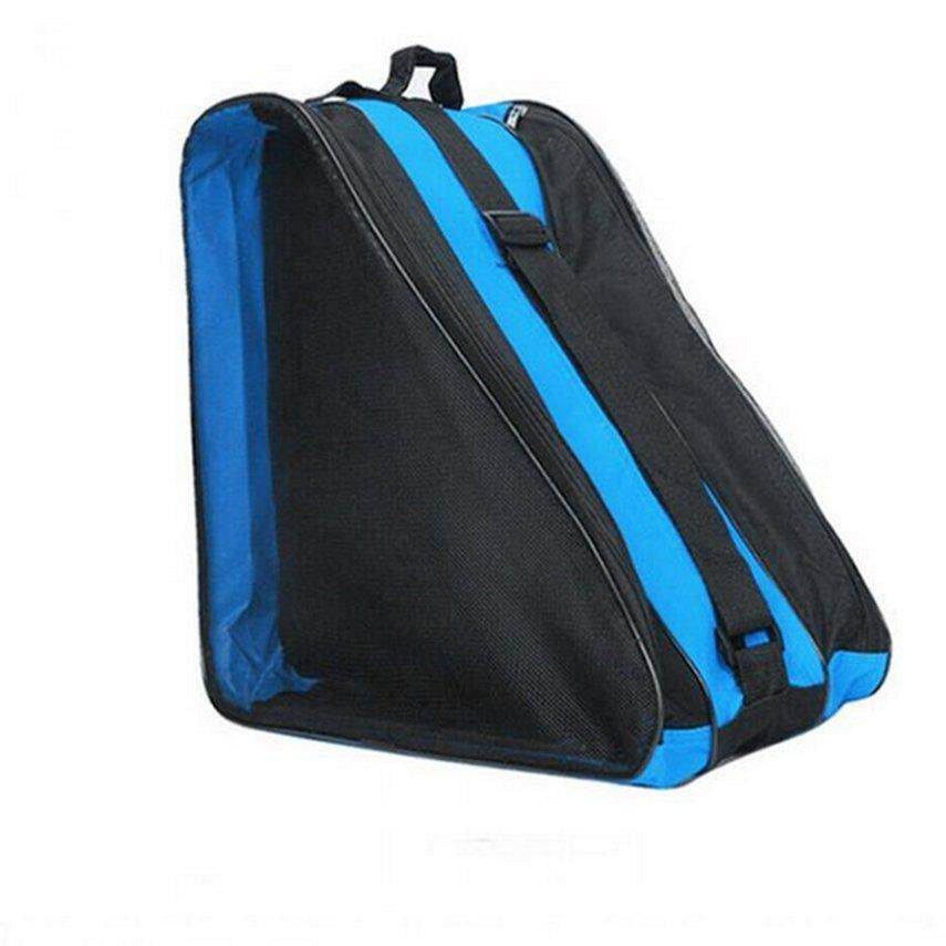 Kaka Portable Size Large Ice Skate Roller Blading Carry Bag Storage Bag With Shoulder Strap For Kids Adults By Kakagardener.