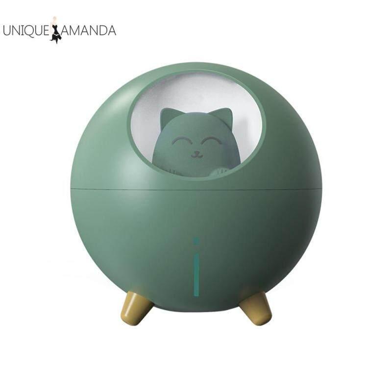 Pet Cat Ultrasonic Air Humidifier Aroma Essential Oil Diffuser Car Mist Maker Essential Air Fresher Singapore