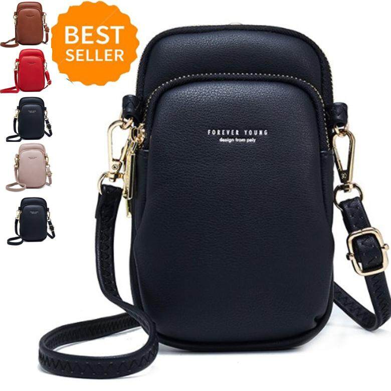 fb75af3315b 2019 New High Quality Fashion Small Shoulder & Chest Bag For Women Card  Cell Phone Pocket Pu Leather Ladies Crossbody Bags Purse Female Messenger  Bag