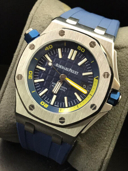 Ap Audemars_Piguet_New Smart Collection Chronograph Stop Watch Automatic Movement inside all working with ori box and paper bag Malaysia