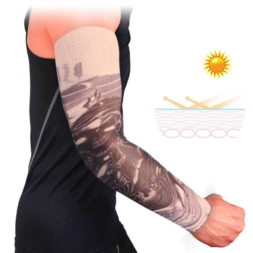 (BAIBAO)1PC Arm Sleeves Breathable Anti-slip Cuffs UV Protection Compression Sun Sleeves
