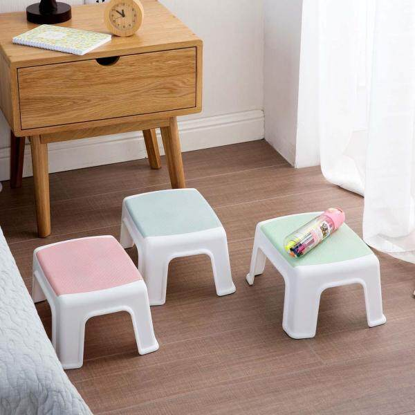 Homenhome Plastic Stool Living Room Adult Shoe Bench Bathroom Childrens Bench