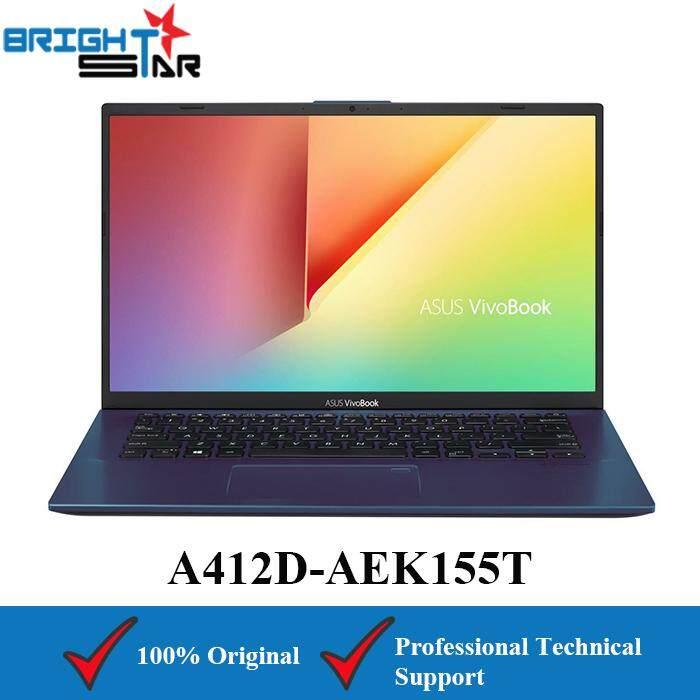 ASUS VivoBook A412D-AEK155T Blue (AMD Ryzen 5-3500U/4GB/256GB SSD/AMD VEGA 8/14Inch) Malaysia
