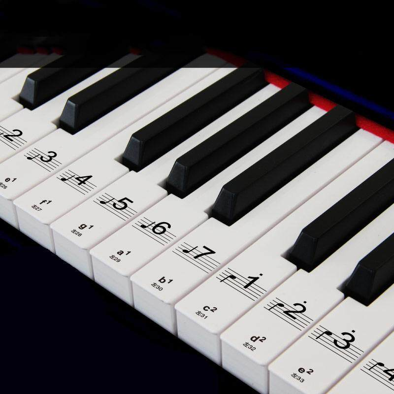 Bàn Phím Piano 61 Phím Bàn Phím Điện Tử 88 Phím Dán Nhãn Học Biginners By Mayler Store.