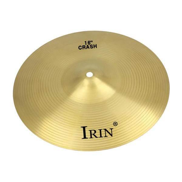 Baoblaze IRIN Professional 16 inch hợp kim đồng thau tai nạn đi xe Hi-Hat Cymbal cho bộ trống