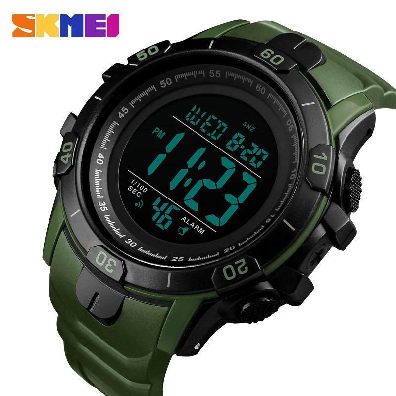 Mens Watches SKMEI Brand LED Digital Watch Men Wrist Watch Black Alarm 50m Waterproof Sport Watches For Men Malaysia
