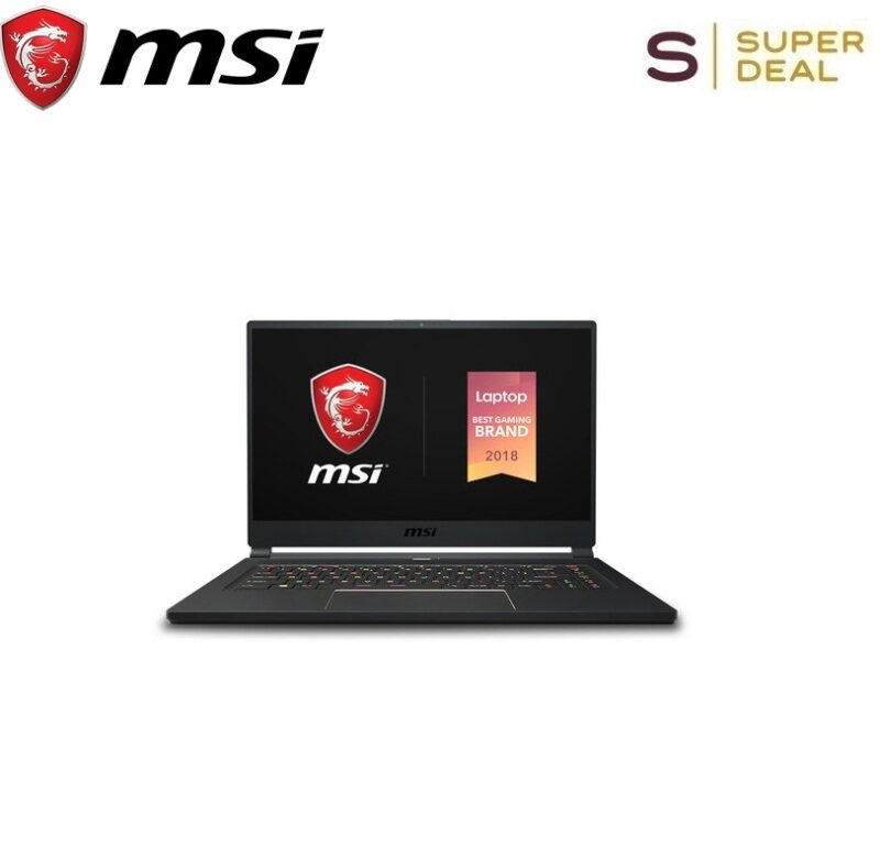 MSI 15.6  GS65 9SE-483US Stealth Gaming Laptop ( 240Hz Display, Thin Bezel, Intel Core i7-9750H, NVIDIA GeForce RTX2060, 16GB, 512GB NVMe SSD) Malaysia