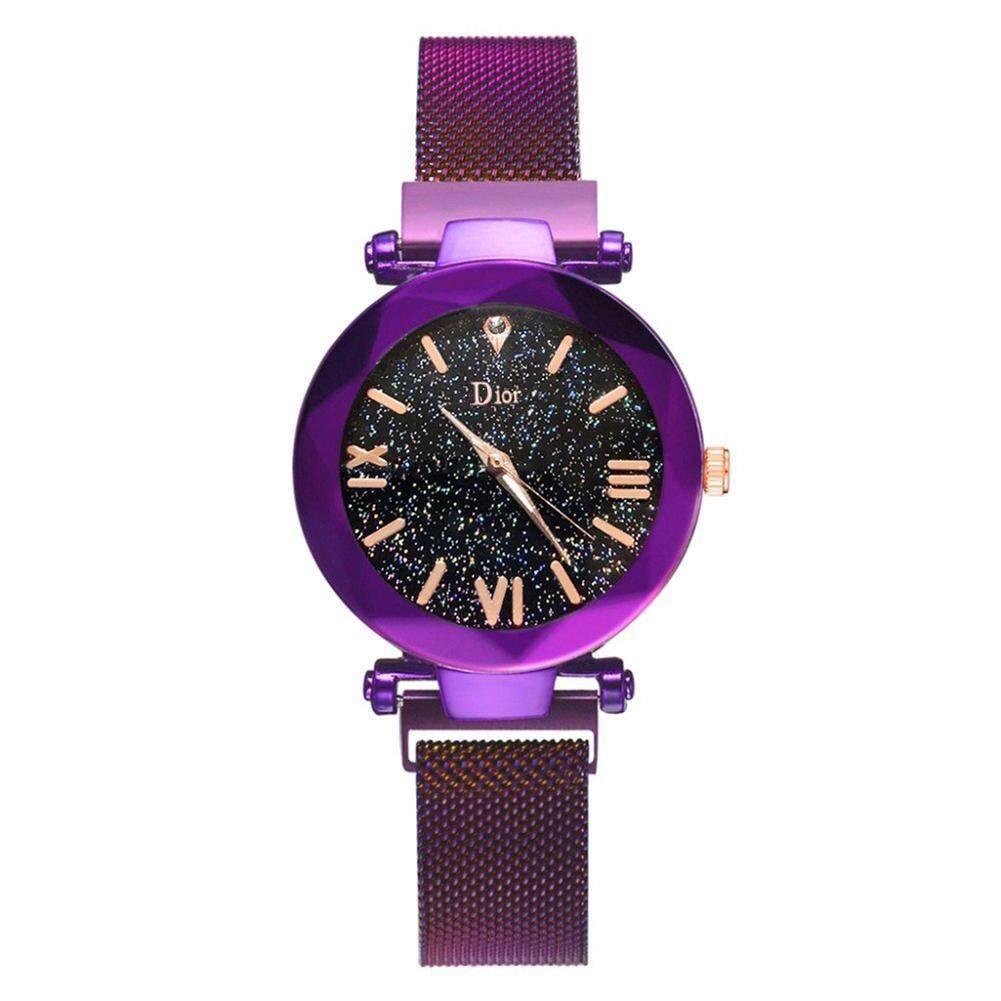[Ready]Starry Sky Magnet Star Watches Casual Fashion Lady Wristwatch Life Waterproof Quartz Watch Jam Tangan Wanita Malaysia