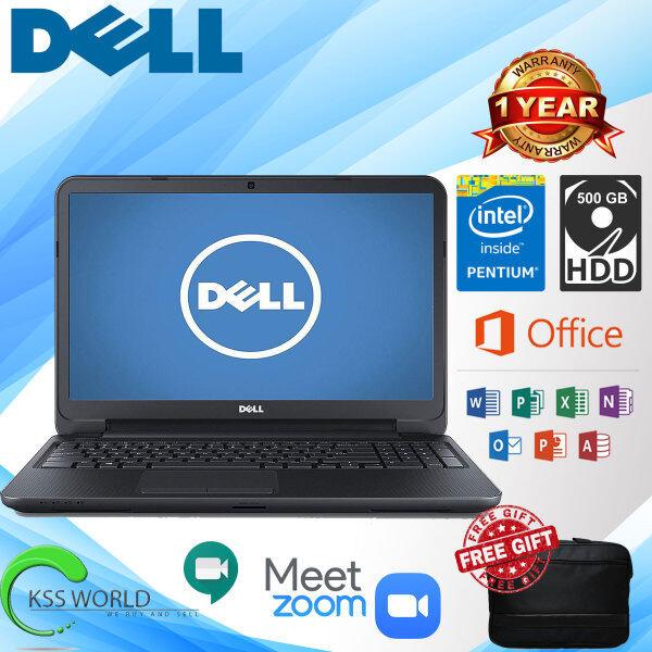 Dell Inspiron 3521 - 15.6 - Pentium 2127U - 4 GB RAM - 500 GB HDD - 1 Year Warranty Malaysia