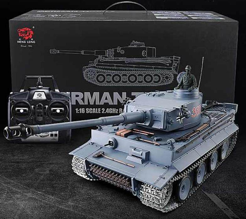 6 0 New Edition With Infrared battle system 1:16 German Tiger Tank 1 rc  battle tank 2 4G HL 3818-1 Upgraded Metal track rc tank
