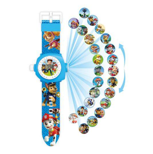 New Arrive 2019 Kids Children Boy Girl LED Digital Watch, Cartoon 3D Projection Toy Watch - 24 Pictures, Multi Pattern Kids Funny Watches Toy (PAW Patrol 1) Malaysia