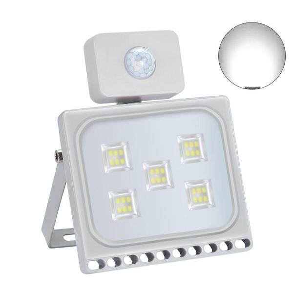 Waterproof Aluminum Ultrathin Led Garden Wall Motion Sensor Outdoor Yard Spot Security Flood Light