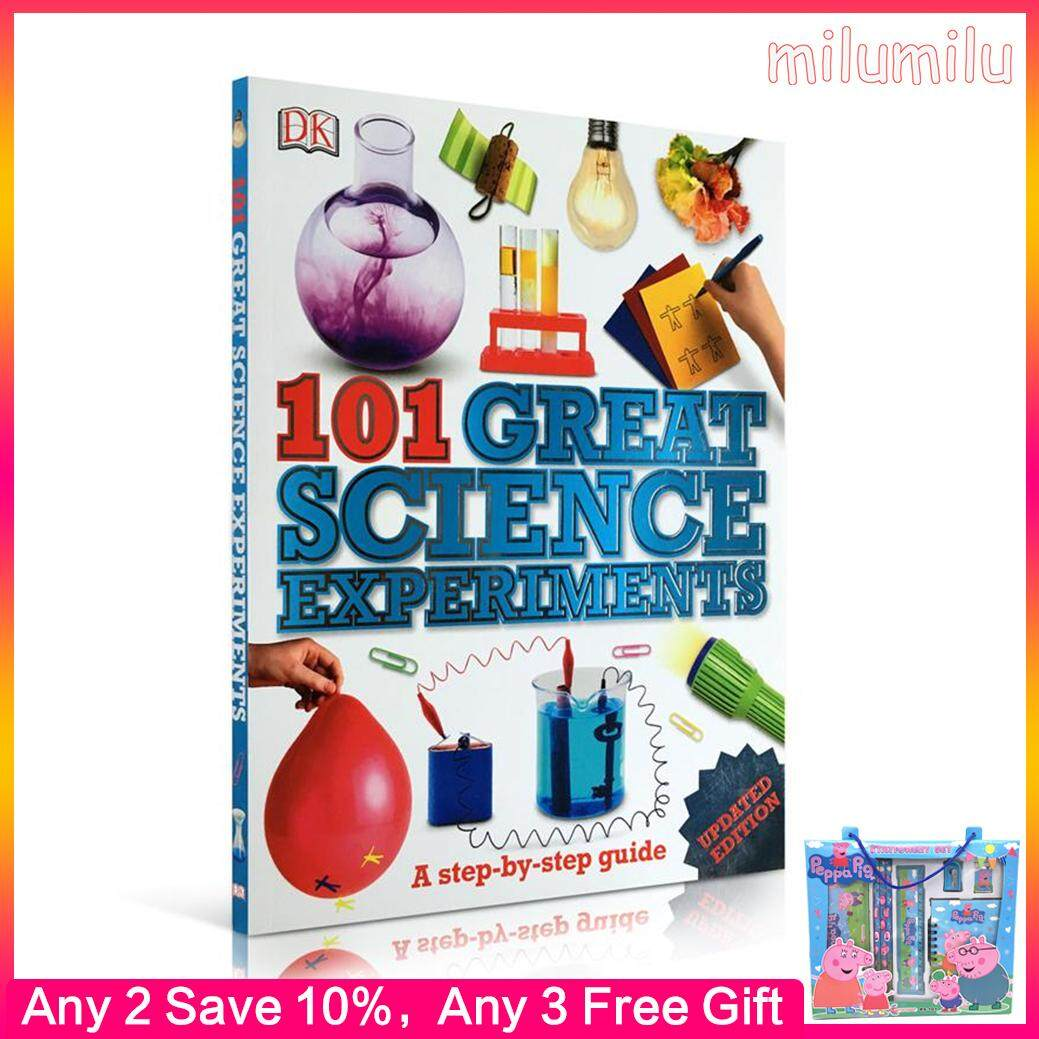 Dk 101 Great Science Experiments Encyclopedia Dictionary Dictionary Original English Books Childrens Education Picture Book.
