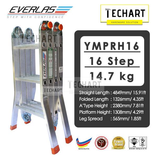 Everlas YMPRH16 16 Steps Multipurpose Ladder Tangga Lipat