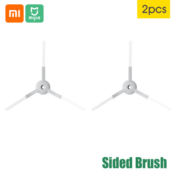 2 Bàn Chải Hai Mặt Cho Robot Hút Bụi Xiaomi Mijia G1, Làm Sạch Sâu Nhanh, Hoạt Động Tốc Độ Cao, Bàn Chải Mỏng Lông