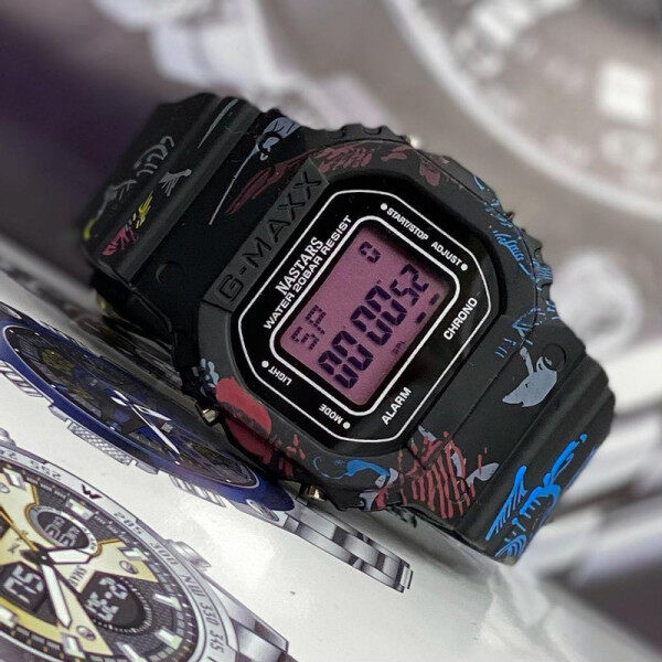 SPECIAL PROMOTION CASIO_G_SHOCK  RUBBER STRAP FOR MEN AND WOMEN(Along with free Gift Box) Malaysia
