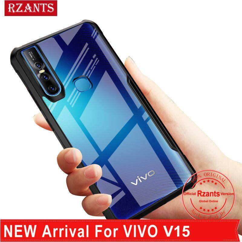 Rzants untuk VIVO V15 Case 【Four Corner】transparent untuk Tipis Penuh Pelindung Matte Tahan Guncangan Tipis Sarung Pelindung Keras
