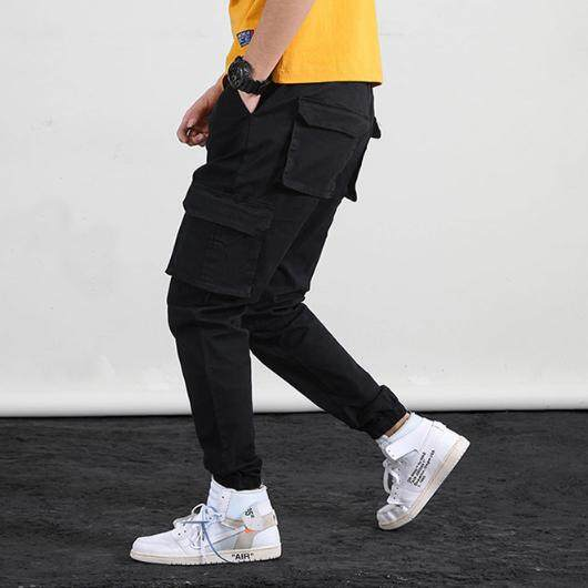 Style & Co กางเกงขายาวทรงหลวม Stylish Multi-Pocketed Sports Joggers Pants