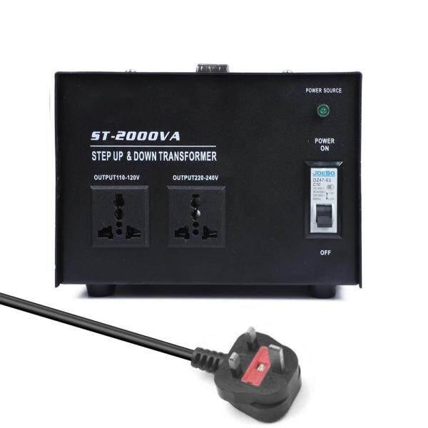 【Barthome】Intelligent Efficient Step Up Down Power Transformer 2000W Home-use 100V-220V Household Electrical Appliance Voltage Converter