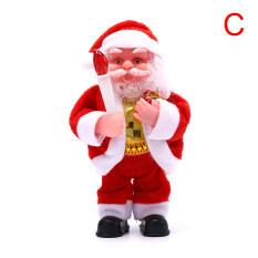 Búp Bê Đồ Chơi Ông Già Noel Điện Lokei Với Âm Nhạc Trang Trí Nội Thất Quà Tặng Giáng Sinh