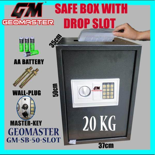 LOCAL GM-50EK SAFE BOX WITH DROP SLOT / SAFETY BOX WITH DEPOSIT SLOT