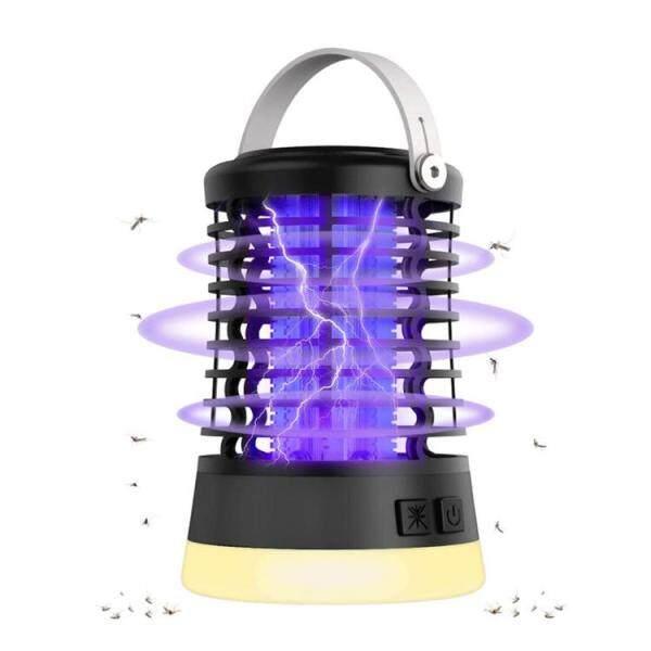 Đèn Cắm Trại UV, Đèn Bẫy Bọ Chống Nước 3 Trong 1 Sạc Được Tiện Dụng