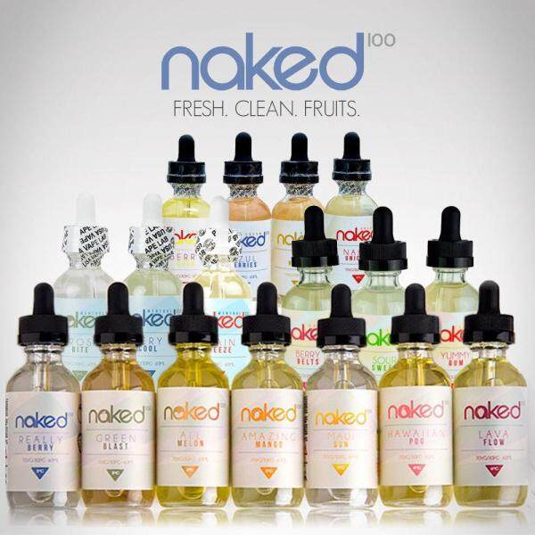 GENUINE Naked 100 Full Series (60ml) Free Base USA E-Liquid E-Juice Flavor Vape E-Cigarette (From Vape Lab) Malaysia