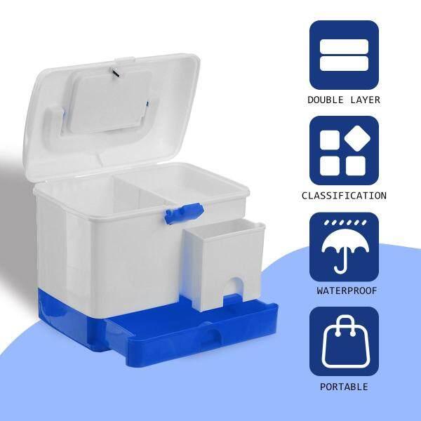 Me-dicine Box Pill Storage First Aid Plastic Container Travel Organiser Case