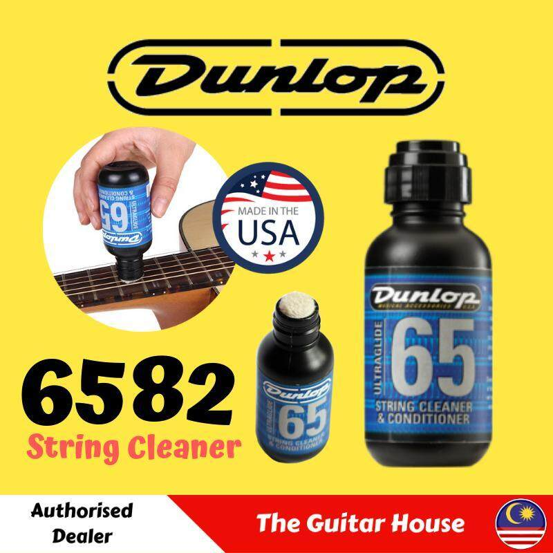 Dunlop 6582 UltraGlide 65 String Conditioner Cleaner (Made In USA) Malaysia