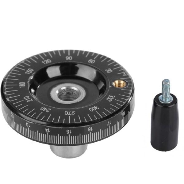 63mm Solid Hand Wheel Scale Hand Wheel Mechanical Parts Bakelite Machine Handle Calibrated Handwheel