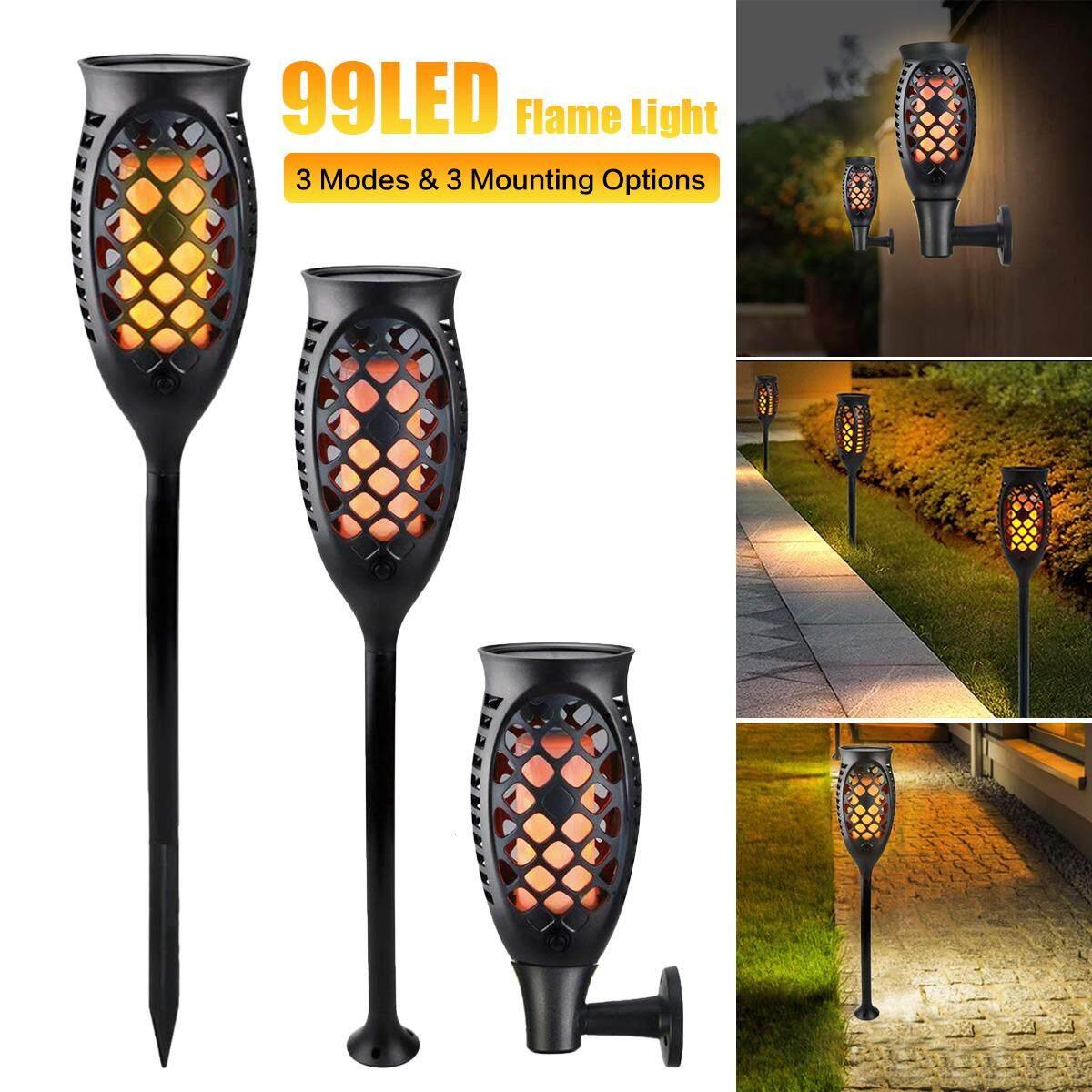 99 LED Waterproof IP65 Solar Tiki Torch Light Dancing Flickering Garden Lamp Torch Light Flame Lamp Outdoor Led Lamp Garden Path