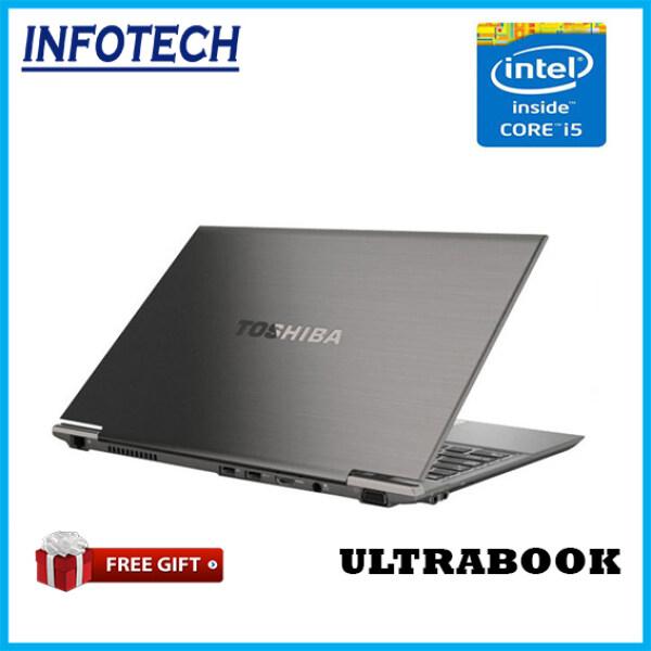 ( Ultrabook , Ultra Slim , Ultra Light ) Toshiba i5 3320M , 4gb ram , 128gb SSD w10pro Laptop ( Refurbished ) Netbook Notebook Malaysia