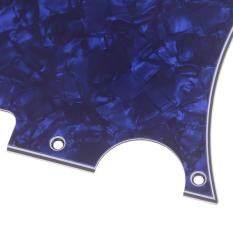 JOLLIC1Pcs 3 Lớp Guitar Pickguard 8 lỗ tấm cho đàn guitar