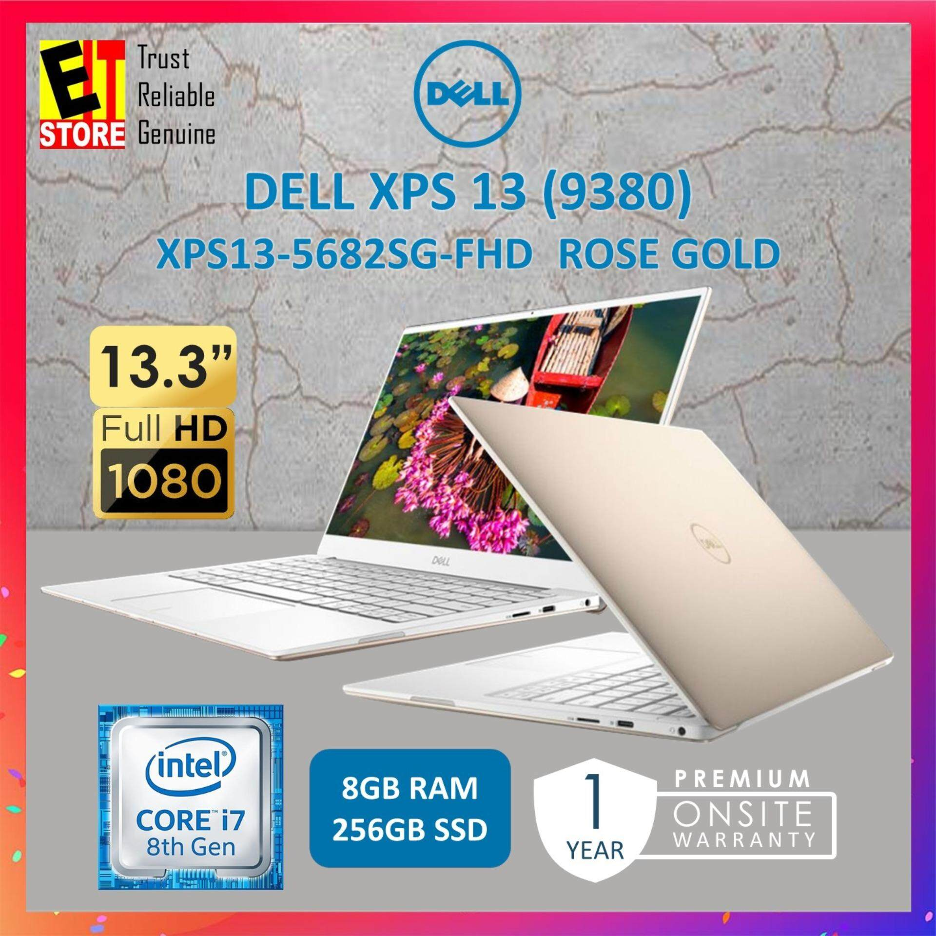 DELL XPS 13 (9380) XPS13-5682SG-FHD ROSE GOLD (I7-8565U/8GB/256GB/INTEL/13.3FHD/W10/1YR) Malaysia