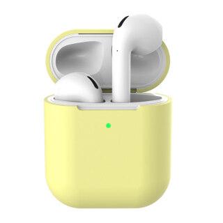 Sanwood Tai Nghe Bluetooth Không Dây Silicon Túi Đựng Bảo Vệ Chỉ Dành Cho AirPods 2 Cho Hộp Tai Nghe Airpods Không Có Tai Nghe thumbnail
